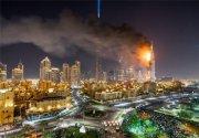 آتشسوزی در هتل The Address DownTown دبی قبل از سال نو