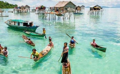 منطقه ای به نام Bajau