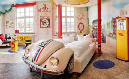 مناسب ترین هتل برای یک عشق ماشین