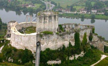 یک قلعه ی قرون وسطی