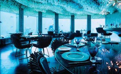 رستورانی در زیر آب