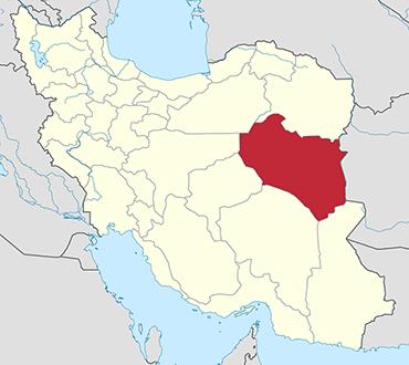 مکان استان خراسان جنوبی روی نقشه